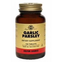 GARLIC PARSLEY FCO* 100 TABLETAS
