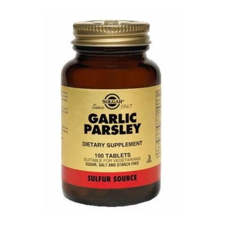 GARLIC PARSLEY FCO 100 TABLETAS