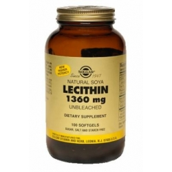 LECITHIN 1360MG FCO 250 SOFTGEL