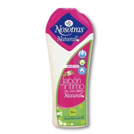 JABON INTIMO NOSOTRAS (NATURAL) FCO 150ML
