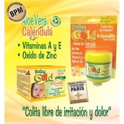 CREMA BABY GOLD ANTIPAÑALITIS (ENVIOS A TODA COLOMBIA) CAJA*60GR X 2 UNIDADES