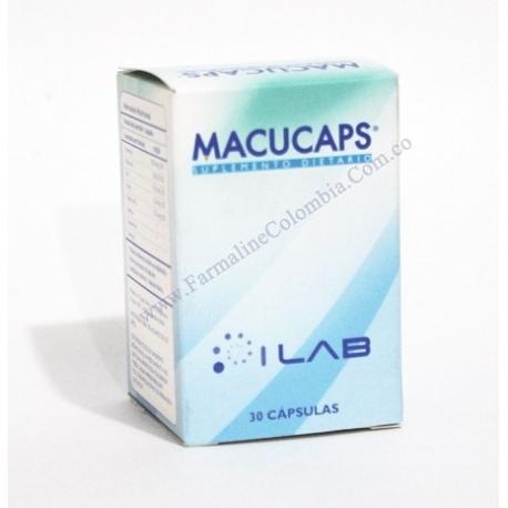 MACUCAPS CAPSULAS ILAPS LABOARATORIO (SUPLEMENTO MULTIVITAMINICO) FRASCO* 30CAPSULAS