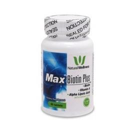 MAX BIOTIN PLUS 1000 MCG FRASCO X 60 TAB (ENVIOS COLOMBIA) CANTIDAD*1