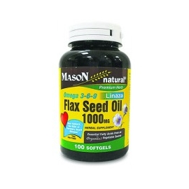 OMEGA 3 6 9 FLAX SEED OIL 1000MG X 100 SOFGELS (ENVIOS COLOMBIA) CANTIDAD*1
