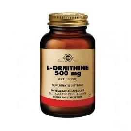 L-ORNITHINE 500MG SOLGAR (ENVIOS COLOMBIA) CANTIDAD*1