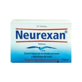 Neurexan Caja Con Frasco x 50 Tabletas (ENVIOS COLOMBIA) CANTIDAD*1
