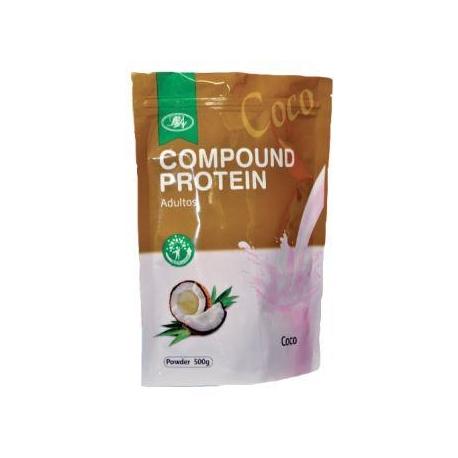 Compound Protein - Coco Bolsa por 500 gr. (envios a todo colombia)