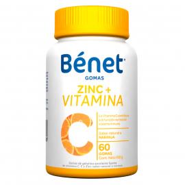 BENET ZINC + VITAMINA C GOMAS (ENVIOS A TODA COLOMBIA) FCO*60 GOMITAS