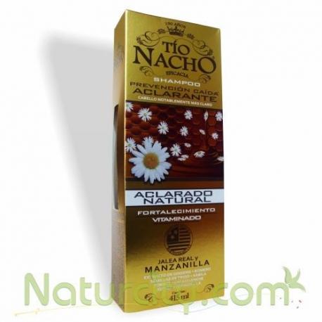 CHAMPU TIO NACHO PREVENCION CAIDA ACLARANTE FCO415ML