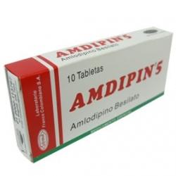 AMDIPIN*5MG*CAJA*10TBLTS