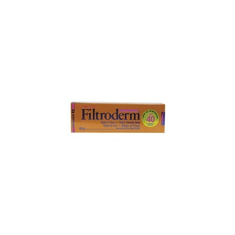 FILTRODERM EMULSION SPF 40 FCO 60ML